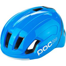 POC Omne Pocito Spin Helmet Kids fluorescent blue